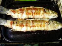 Bacon-Wrapped Sea Bass picture