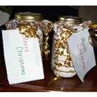 gingerbread cookie mix in a jar picture