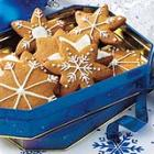 Gingerbread Snowflakes picture