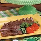 gingered flank steak picture