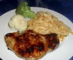 Grilled Pork Chops With Honey Glaze picture