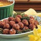 Glazed Ham Balls picture