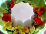 Frozen Flower Bowls With Fruits picture