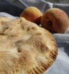 Simple Peach Pie picture