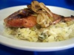 Grilled Chipotle Salmon With Pineapple Cilantro Rice picture