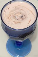 Creamy Coffee Ice Cream Brandy Smoothie Dessert picture