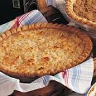 Golden Coconut Peach Pie picture