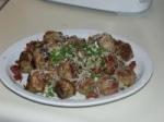 Italian Chicken Meatballs picture