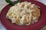 Linguini With Scallops and Herb Cream picture