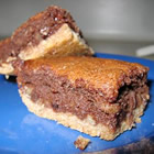 Gooey Brownies with Shortbread Crust picture