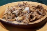 Mushroom Stuffed Eggplant picture