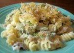 Low-Fat Vegetable and Pasta Casserole picture