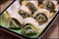 Spinach Dip Pinwheels picture