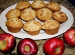 Apple Nut Cinnamon Muffins With Brown Sugar -Cinnamon Topping picture
