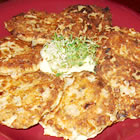 grandma's famous salmon cakes picture