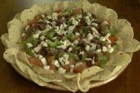 greek layer dip picture