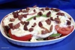 Two Cheese Green Beans & Tomatoes -- Hot or Cold picture