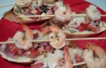 Shrimp on a Bed of Bruschetta picture