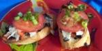 Kalamata and Tomato Crostini picture