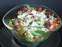 Cold Rice Mozzeralla Ham Salad picture