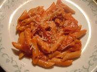 Penne With Creamy Vodka Sauce picture