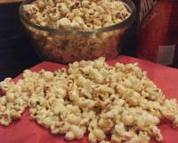 Cheesy Barbequed Popcorn picture