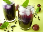 Plum-Blueberry Spritzers picture