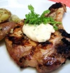 Grilled Pork Chops With Lime, Cilantro & Garlic picture