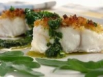 Roasted Halibut With Fresh Herb Sauce picture