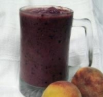 Purple Power Blackberry Peach Smoothie picture