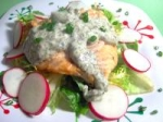 Chilled Salmon With Herb Mayonnaise picture