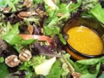 Mixed Greens' Salad With Apples and Maple-Walnut Oil Dressing picture
