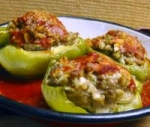 Parmesan Beef Stuffed Peppers picture