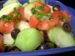 Greek Diced Vegetable Salad picture