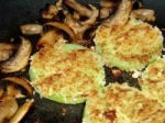 Panko Fried Green Tomatoes and Mushrooms picture
