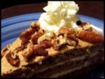 Austrian Walnut Torte With Coffee Whipped Cream picture
