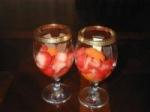 Strawberries in White Wine picture