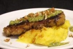 Chargrilled Sirloin With Mash and Salsa Verde picture