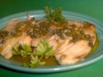 Broiled Fish With Buttery Caper Sauce picture