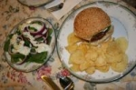 Danish Burgers W/  Herb Caper Sauce and a Mod Salad picture