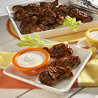 grilled chicken wings picture