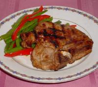 Asian Grilled Pork Chops picture