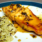 grilled cilantro salmon picture