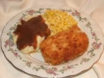 Mustard Fried Pork Chops (Breaded) picture
