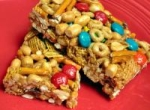 Sweet and Salty Cereal Bars picture