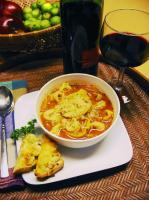 Healthy Tomato-Tortellini Soup picture