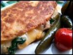 Spinach and Mushroom Quesadillas picture