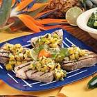 grilled tuna with pineapple salsa picture