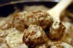Mushroom Meatballs picture