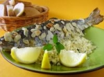 Trout Stuffed With Couscous, Almonds and Herbs picture